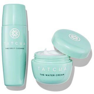 Tatcha Water Cream and Cleanser Mini Set