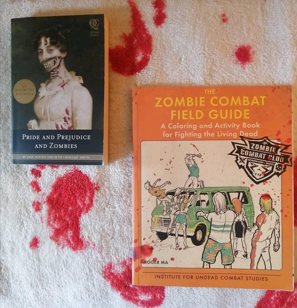 Zombie Themed books
