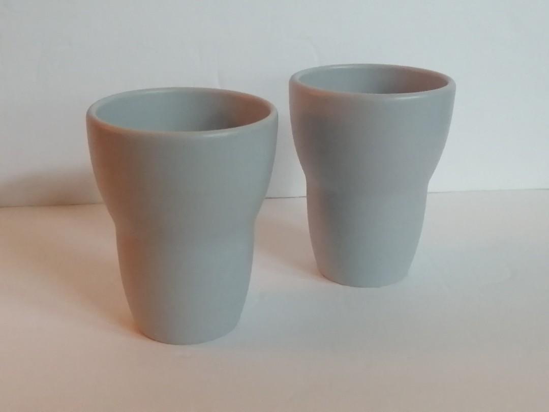 2 Ikea cups/flower pots