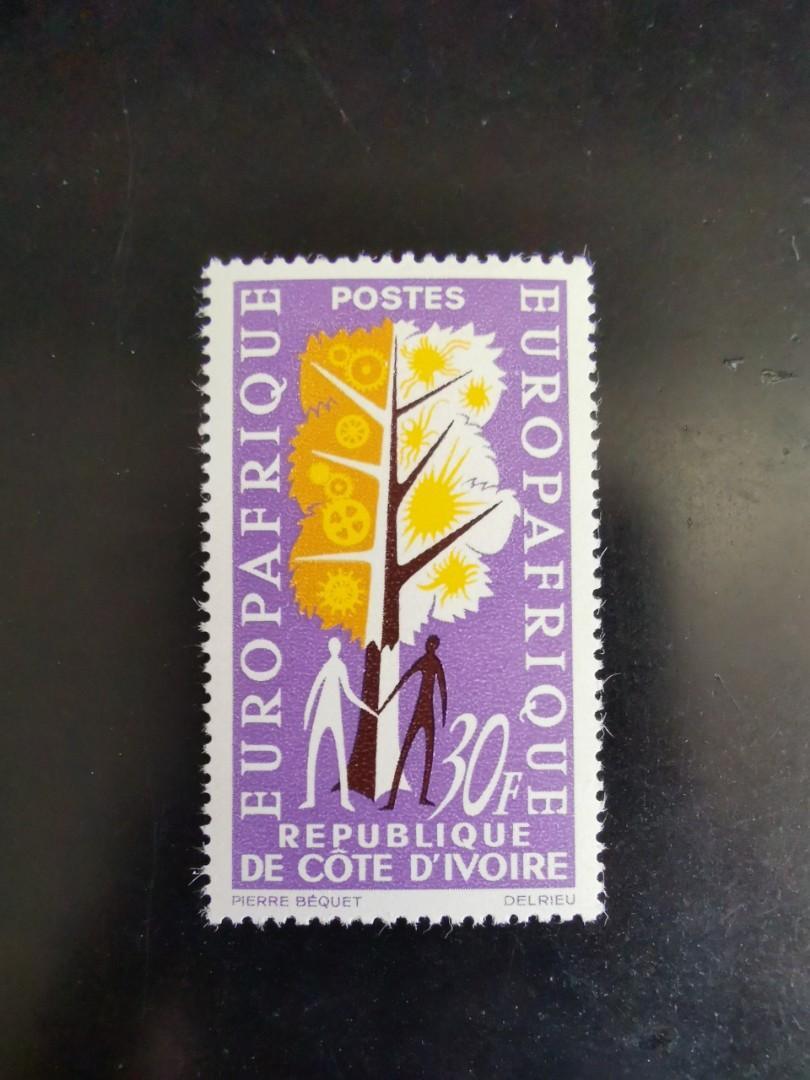 象牙海岸郵票