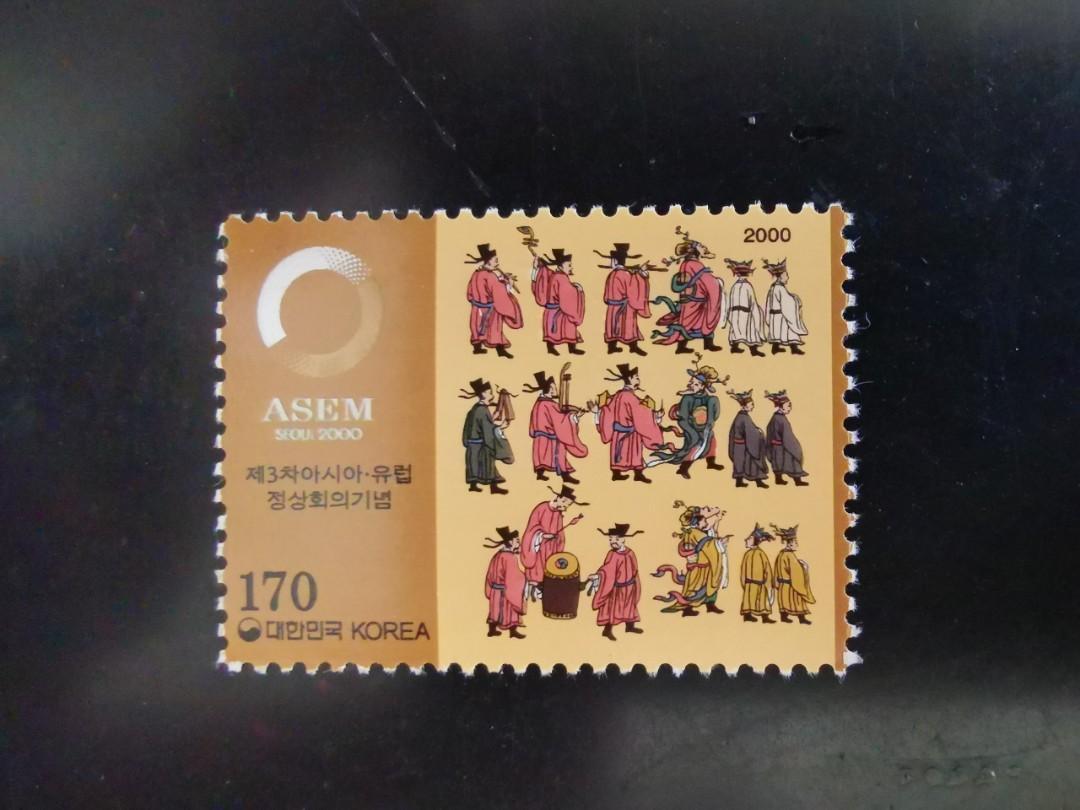韓國郵票 音樂