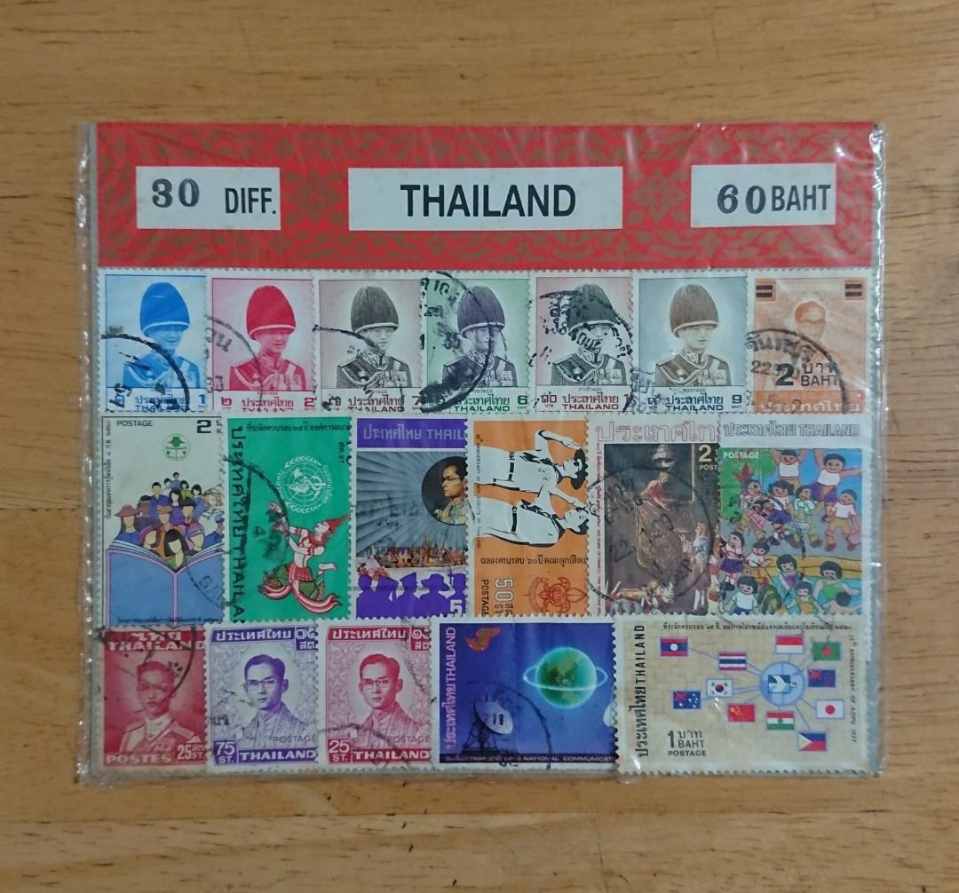泰國郵票 #newbie0720