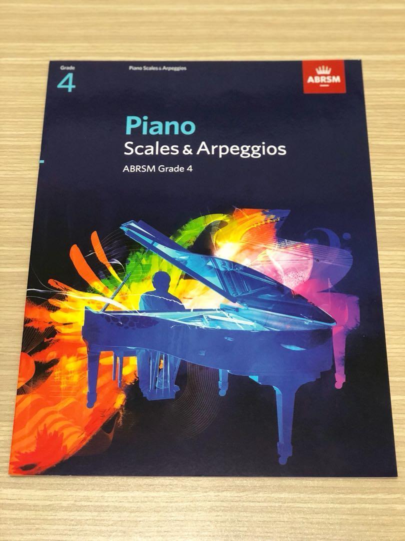 [二手出清]ABRSM 鋼琴音階與琶音 Piano scales&arpeggios grade 4