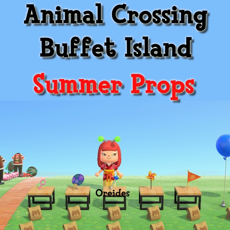 Animal Crossing New Horizons, Summer Props, Toys & Games ...