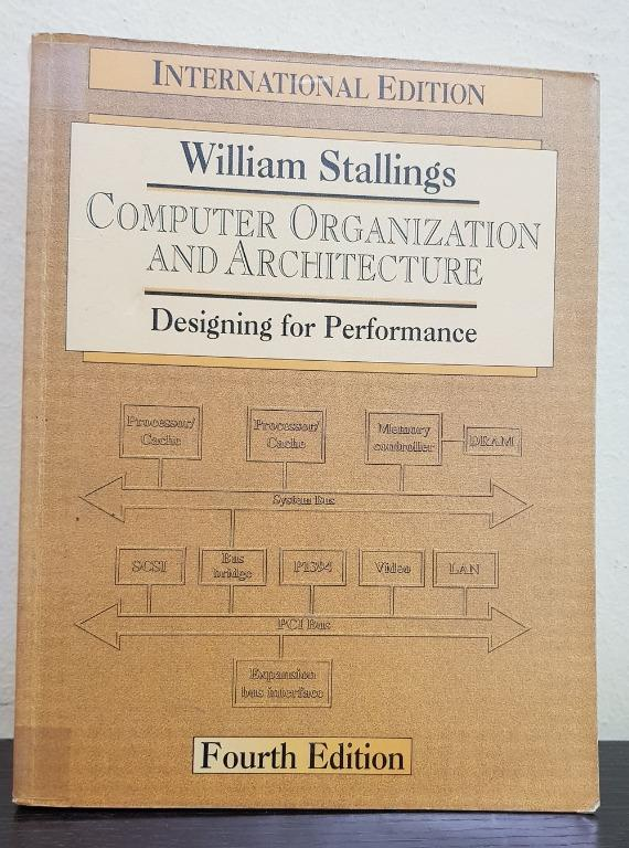 Computer Organization And Architecture Designing For Performance Books Stationery Books On Carousell