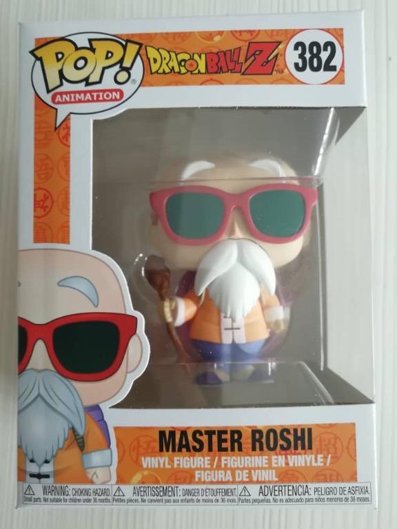 Funko Pop Animation 382 DragonBall Z Master Roshi Dragon Ball Pop Vinyl Figure