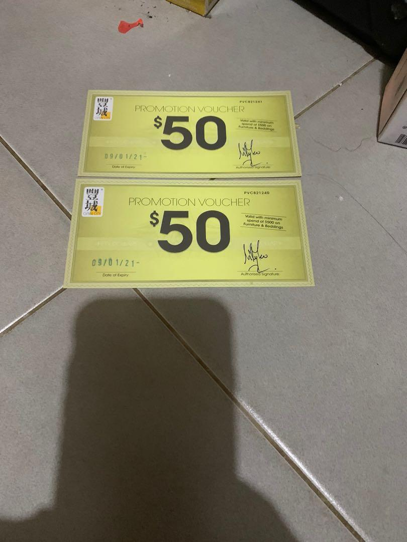 Picture of: Gain City Furniture Vouchers Furniture Beds Mattresses On Carousell