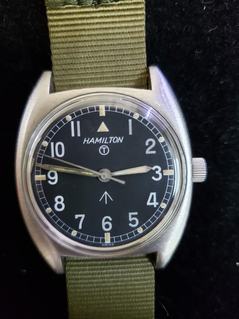 Hamilton 古董軍錶