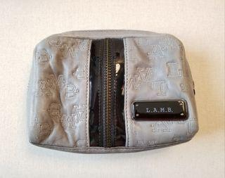 L.A.M.B. Leather Cosmetic Pouch
