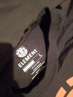 Long sleeve element t-shirt