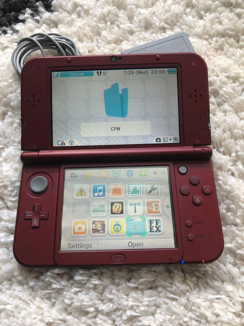 Modded New 3DS XL + 1 Game