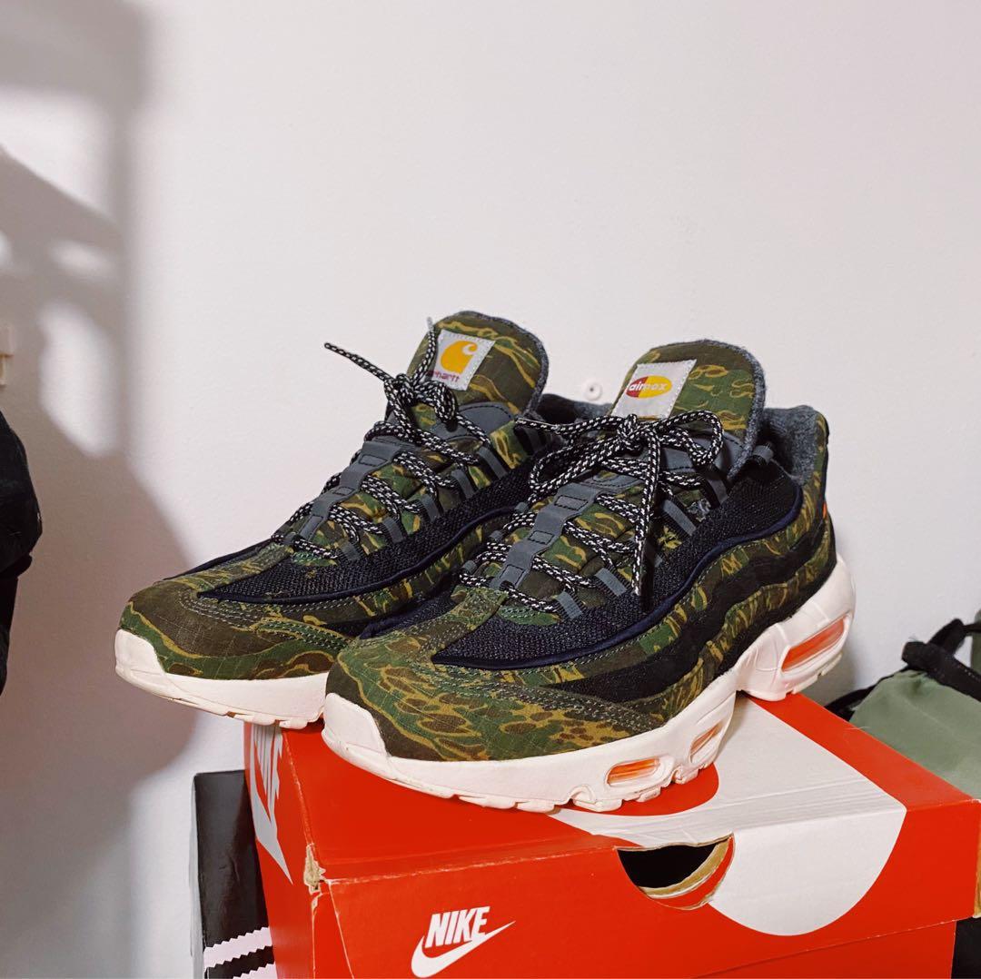alcanzar Nido femenino  Nike x Carhartt Air Max 95, Men's Fashion, Footwear, Sneakers on Carousell