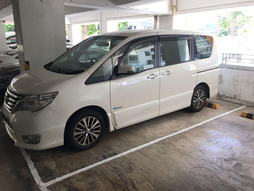 Nissan Serena 2.0 Highway Star Manual