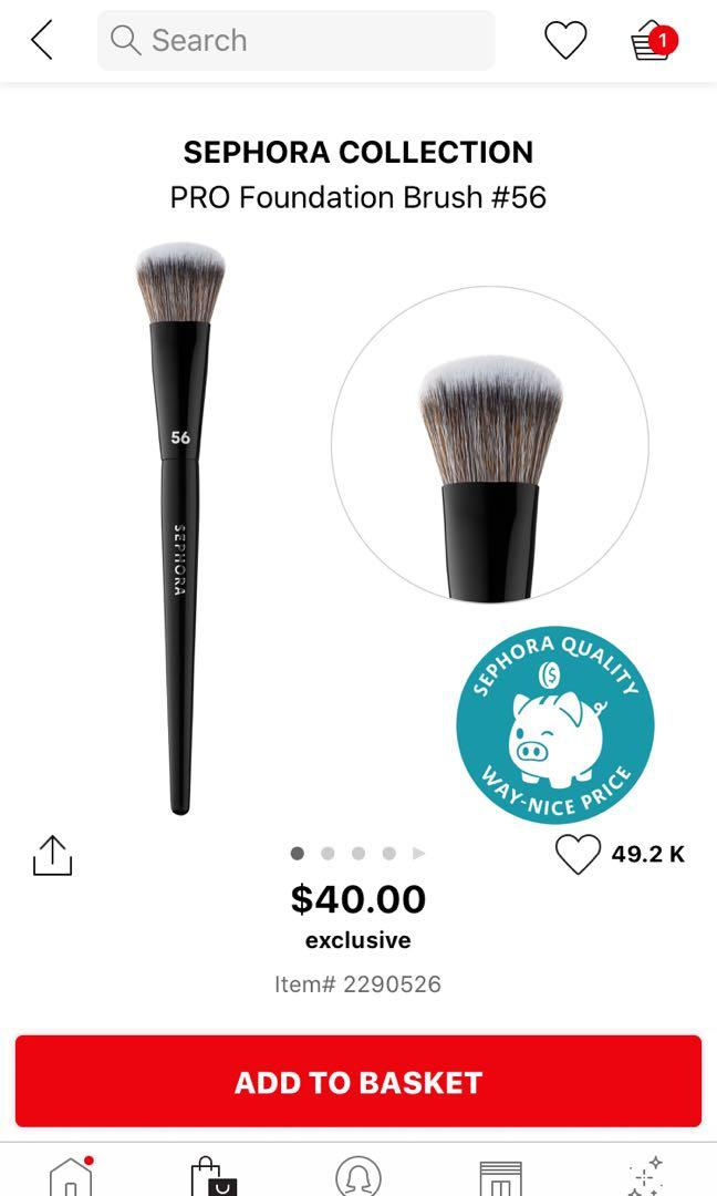 Sephora PRO Foundation Brush #56