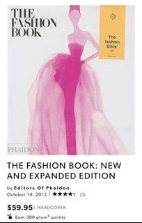 The Fashion Book- Coffee Table Hardcover Book