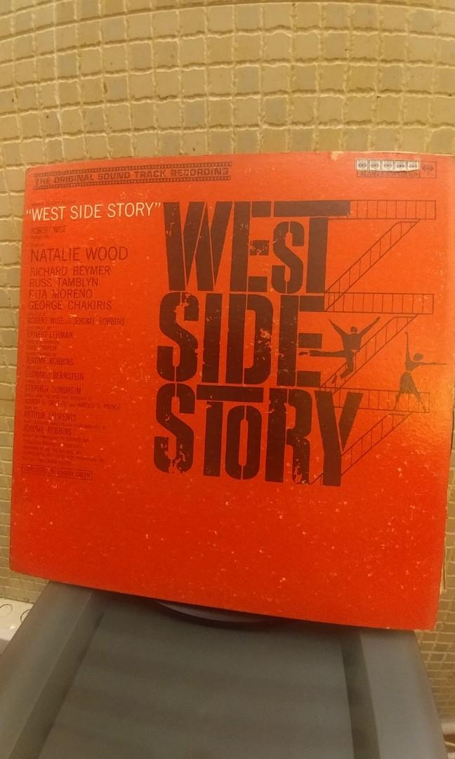 West Side Story LP. Year 1961