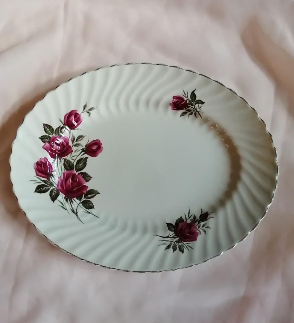 Wood & Sons Rose Royale Platter