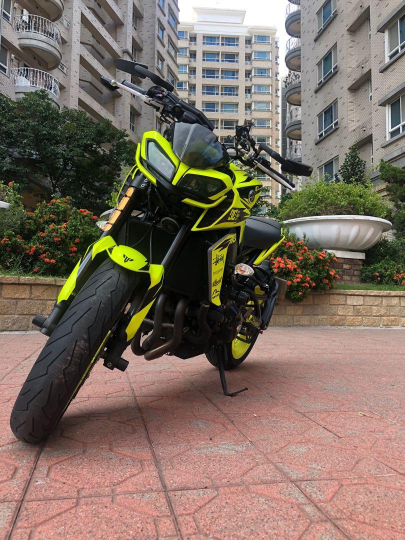 YAMAHA MT-09 歐規全馬力