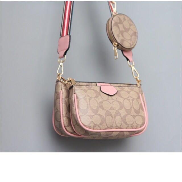 1:1 Coach multi pochette accessories sling bag