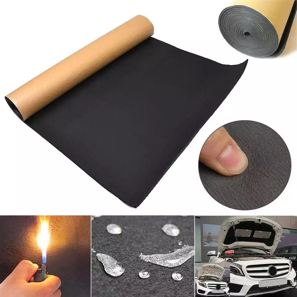 1roll 200cmx50cm 10mm 6mm 3mm Car Sound Proofing Deadening Car Truck Anti Noise Sound Insulation Cotton Heat Closed Cell Foam Furniture Others On Carousell