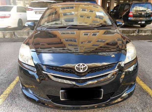 2008 Toyota Vios 1.5 at S spec original with bodykit