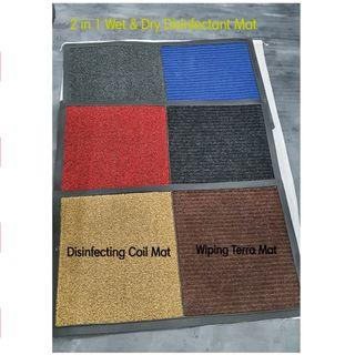 2 In 1 Wet and Dry Disinfecting Mat