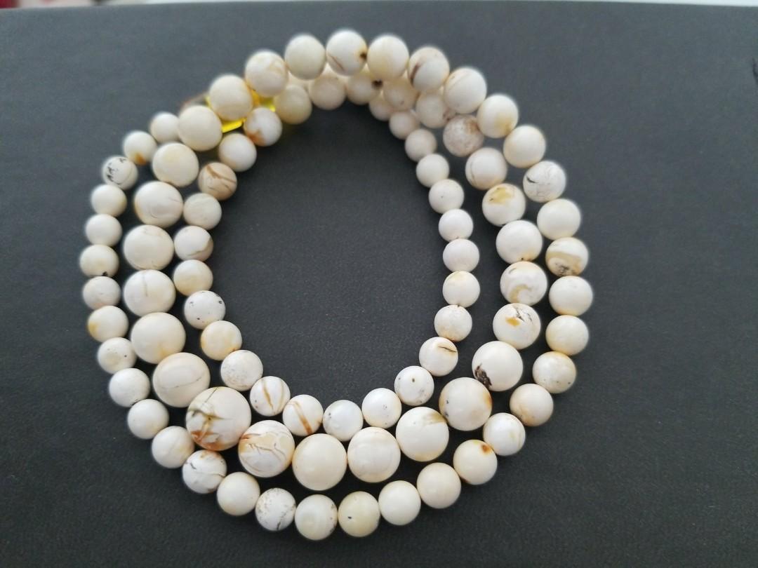 頂級骨瓷白藥珀(搭鏈)