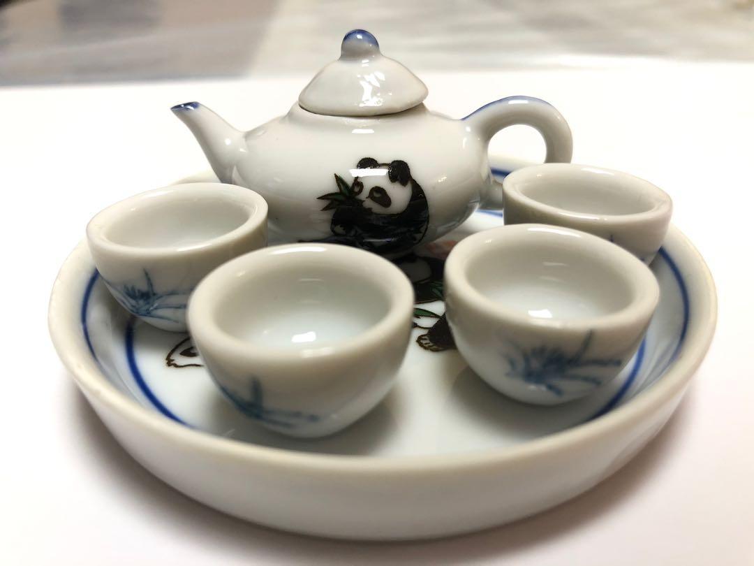 可愛袖珍版功夫茶茶具套裝
