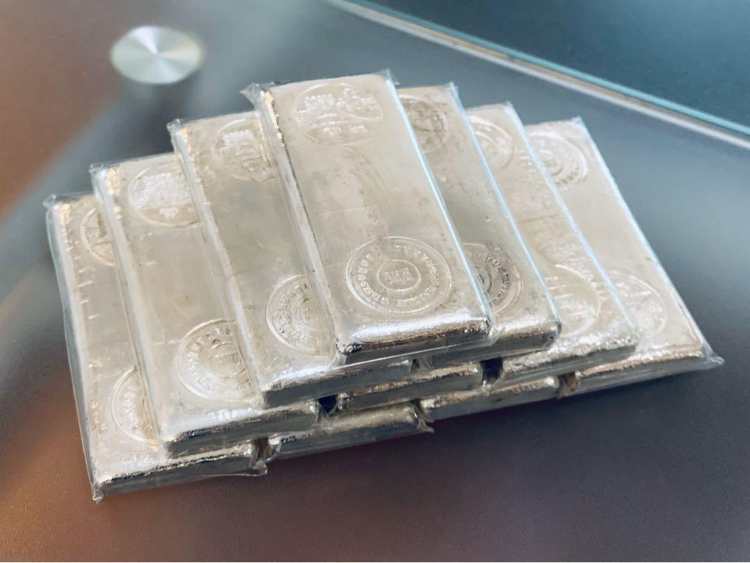 寶生銀行 長城99.9%純銀條十両裝 極罕有 保真