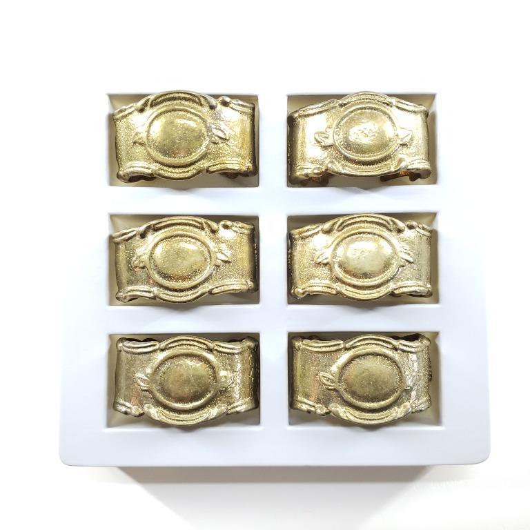 (意大利製!) 復古實心黃銅餐巾圈 / (Made in Italy!) Vintage Frieling Prasent Brass Napkin Rings