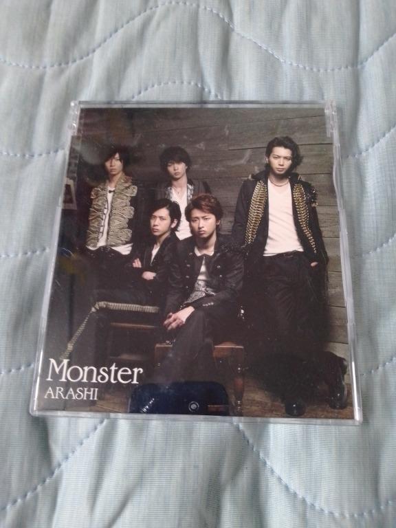 日本版 cd single arashi 嵐 monster