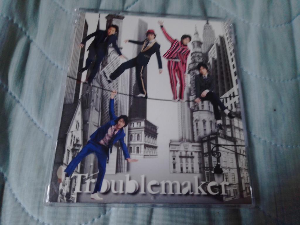 日本版 cd single arashi 嵐 Troublemaker