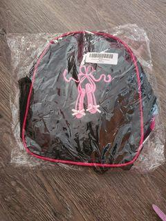 Brand New Black & Pink Ballet Slippers Backpack
