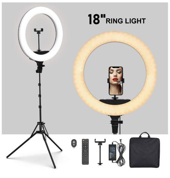 "Brand New Large 18"" Complete Set Ring Light with Delivery"