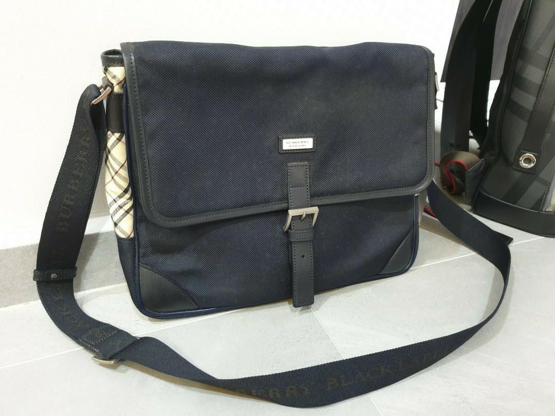 burberry black label bag