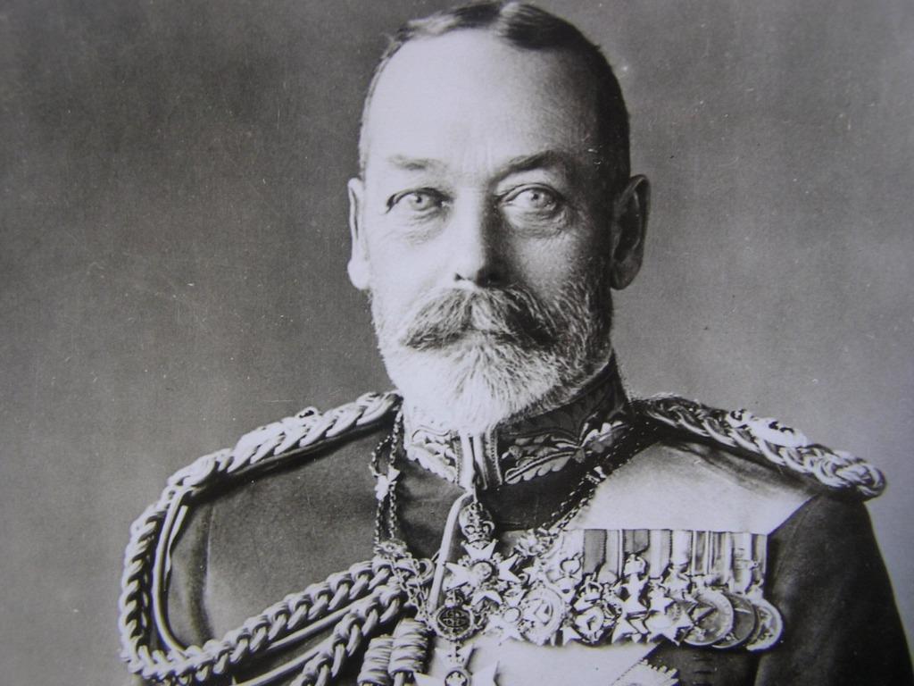 Great Britain - 1936年大英帝國英皇佐治五世(H.M. King George V)照片(報社存檔照,保真)