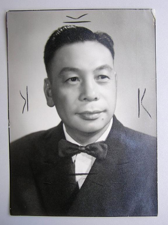 Chinese Republic (Taiwan) - 1954年(臺灣)中華民國國防部總政治部主任蔣經國禮服照片(報社存檔照,保真)