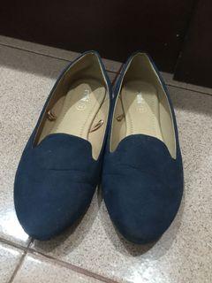Flat shoes Navy by Rubi