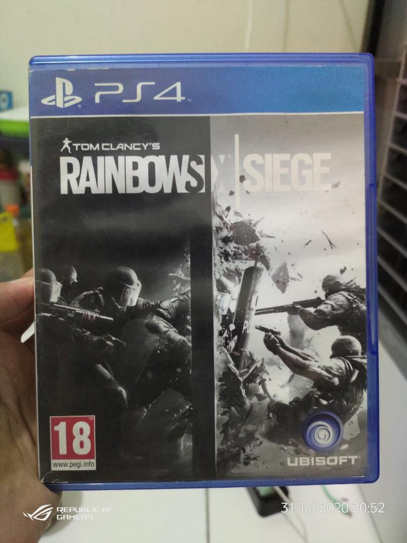 Kaset Ps4 rainbows six 6⃣ siege prelove