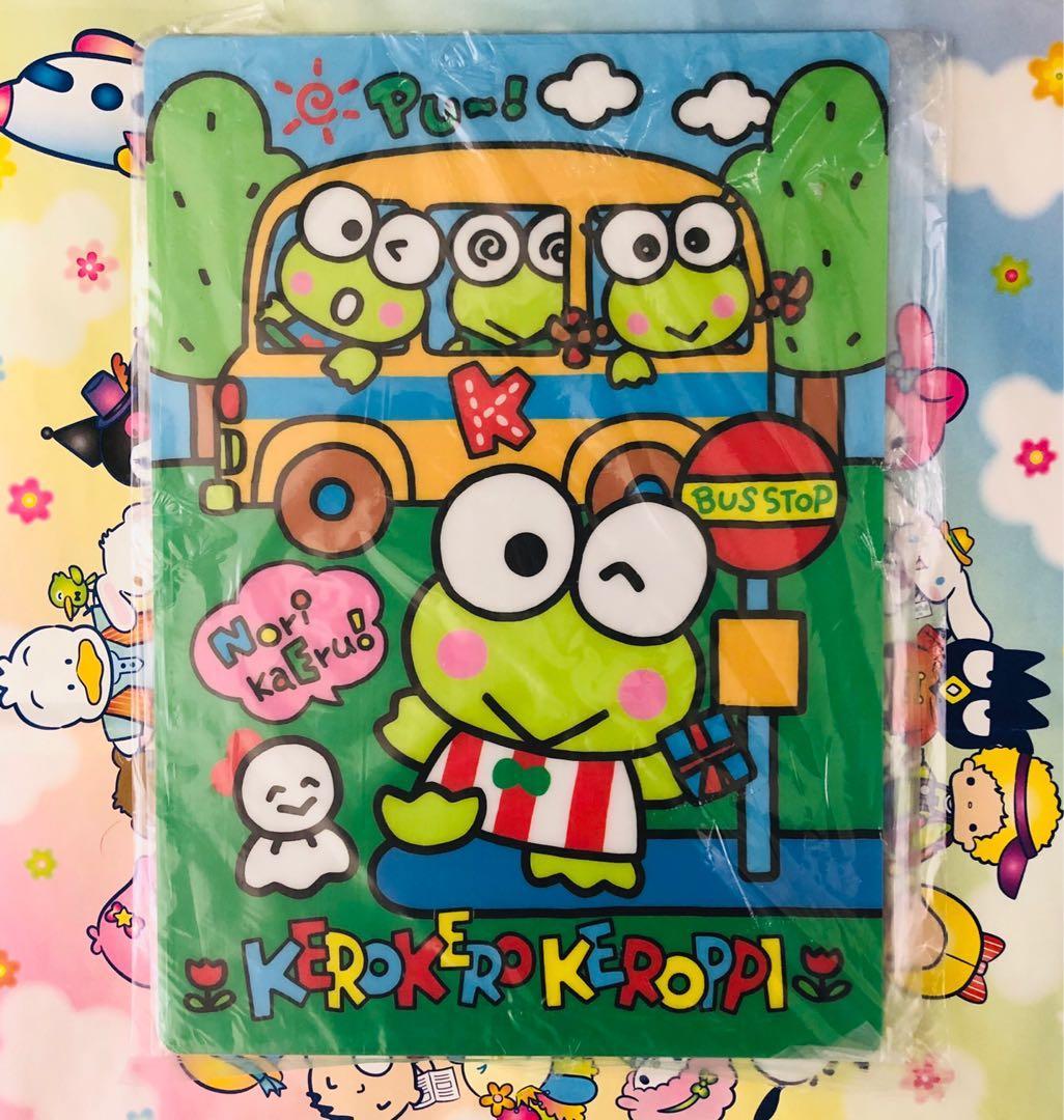 Kerokerokeroppi 青蛙仔 1991 年寫字墊板