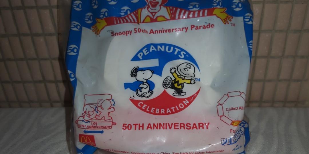 McDonald : 2000 70's Captain Snoopy &  Woodstock