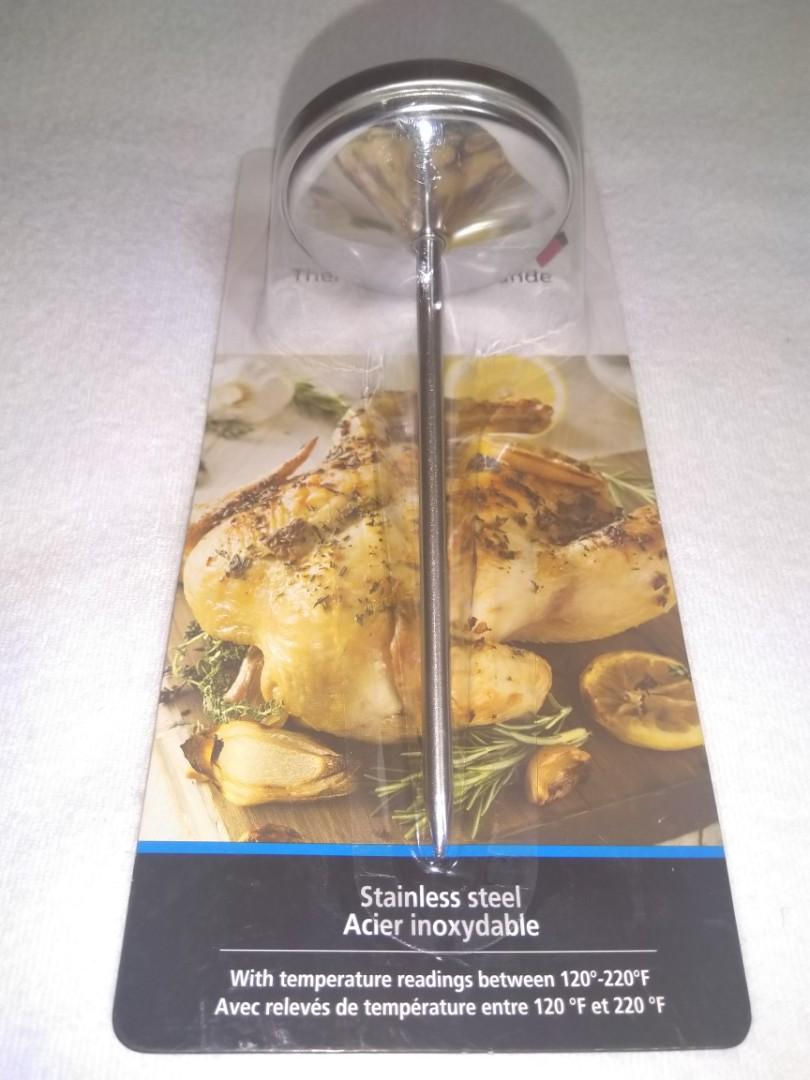 Meat Thermometer with Easy-To-Use Dial Features