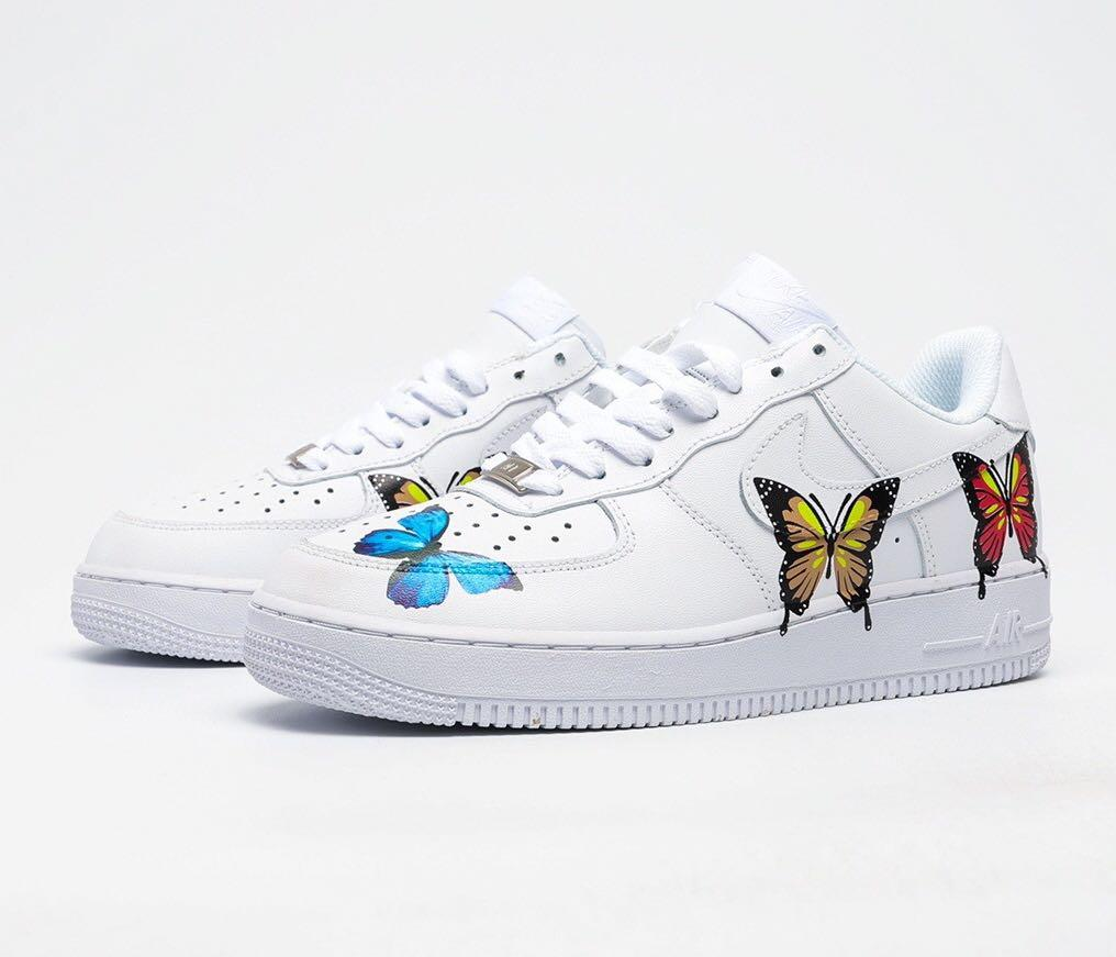 Nike Air Force 1 Multi Color Butterfly