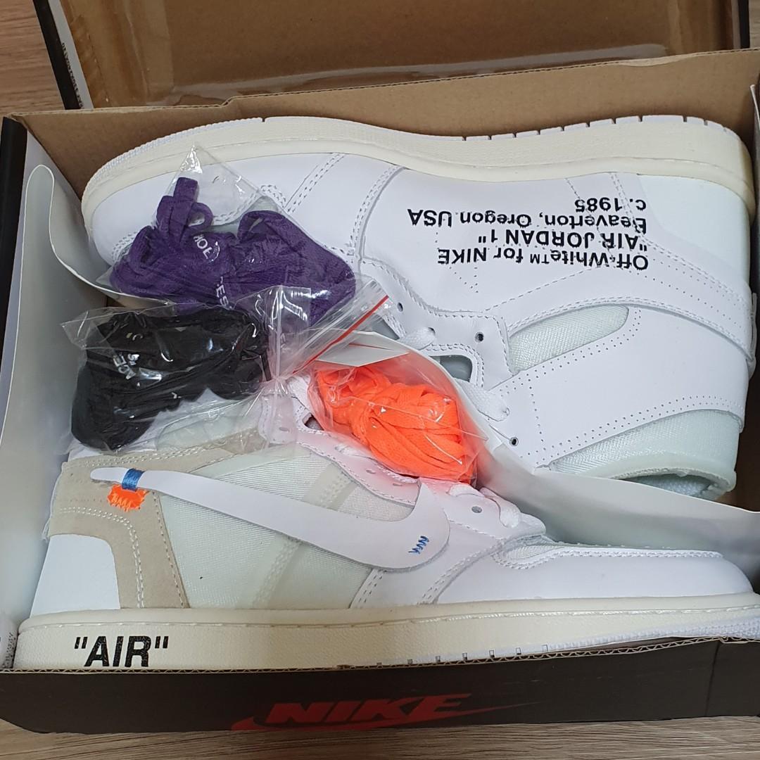 Air Jordan 1 Retro High OG 'White