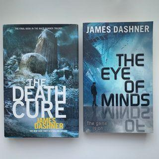 The Death Cure (Hardcover) / The Eye of Minds by James Dashner (Bahasa Inggris/English)