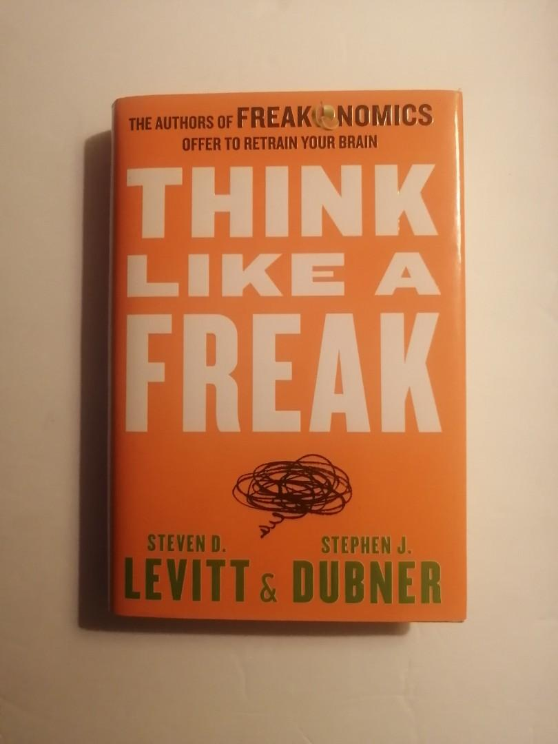 Think Like A Freak Book