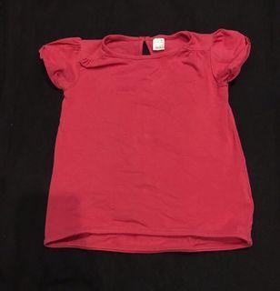 Top red baby | Atasan baby