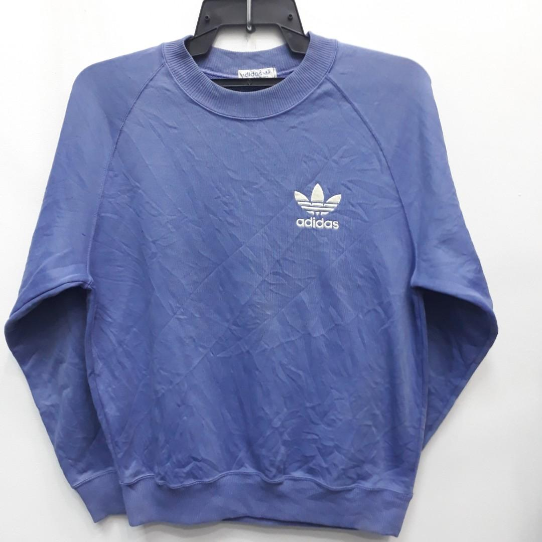 Vintage 90s Adidas Trefoil Sweatshirt Ads 3060 Men S Fashion Clothes Outerwear On Carousell