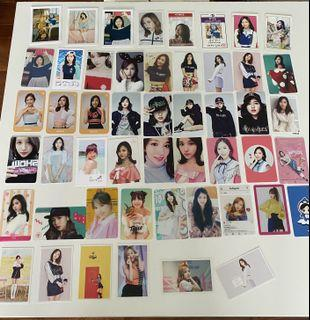 WTS-Mina Unofficial Photocards