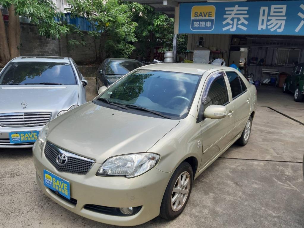 國名神車 TOYOTA 2006年 VIOS 跑9萬 省油省稅 超級耐操車型之一